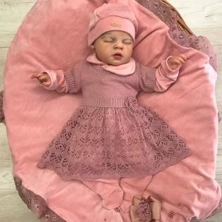 Saída de Maternidade Sonho Bom Charlotte Rosê